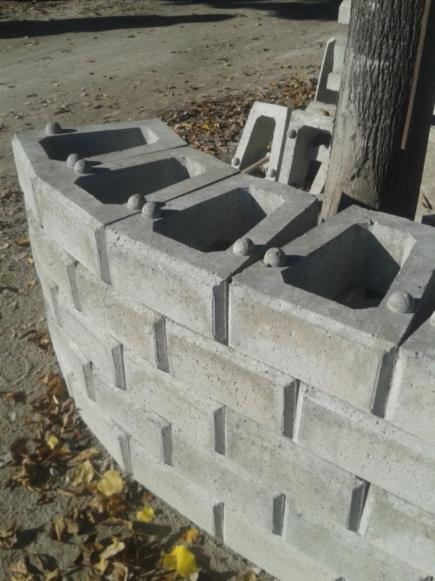 Blocchi Muro Secco.Blocco Per Muro A Secco Muri Di Contenimento Bianchi